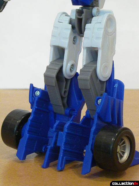 Autobot Mirage- robot mode (back of legs detail)