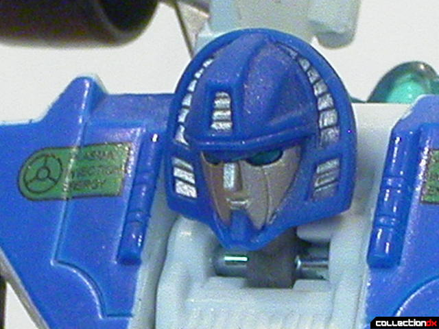 Autobot Mirage- robot mode (head detail)