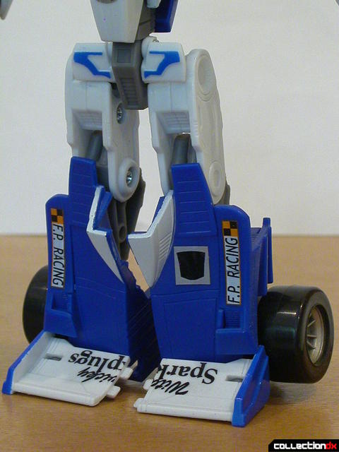 Autobot Mirage- robot mode (legs detail)
