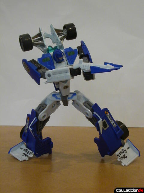 Autobot Mirage- robot mode posed (2)