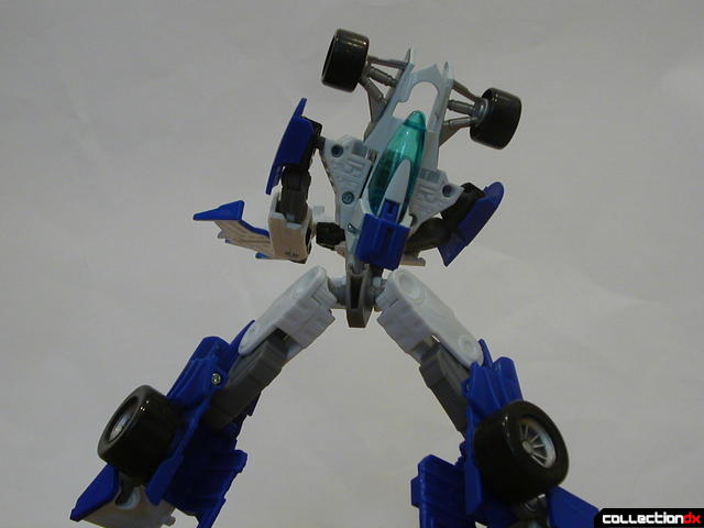 Autobot Mirage- robot mode posed (back2)