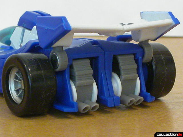 Autobot Mirage- vehicle mode (back detail)