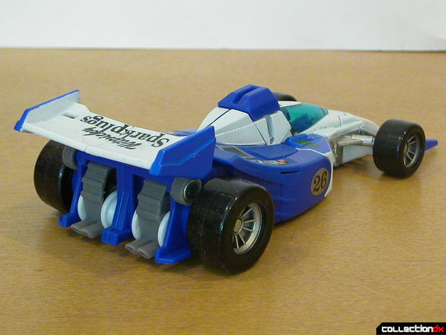 Autobot Mirage- vehicle mode (back)