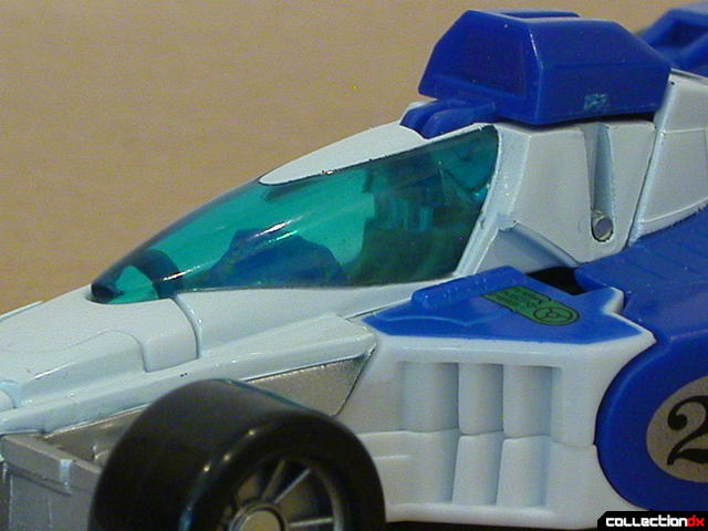 Autobot Mirage- vehicle mode (cockpit detail)