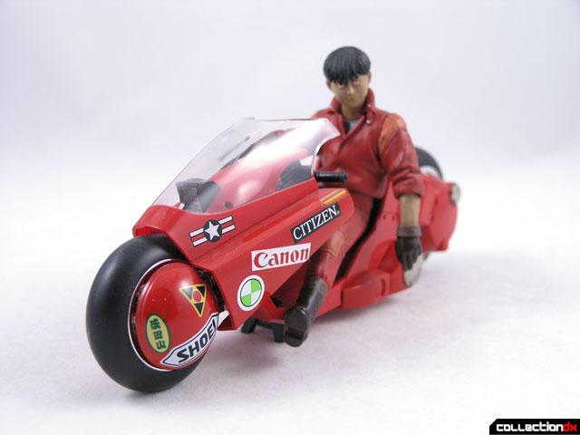 AKIRA Kaneda Bike Die Cast by Soul of Popinica PX 03 Anime Bandai Japan