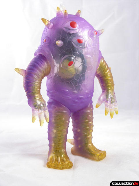 kaiju EYEZON soft vinyl figure Clear Purple Guts edition
