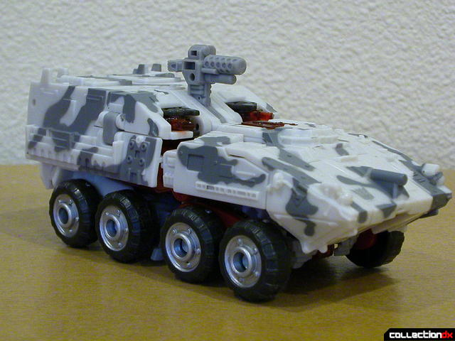 Decepticon Wreckage- vehicle mode (front)