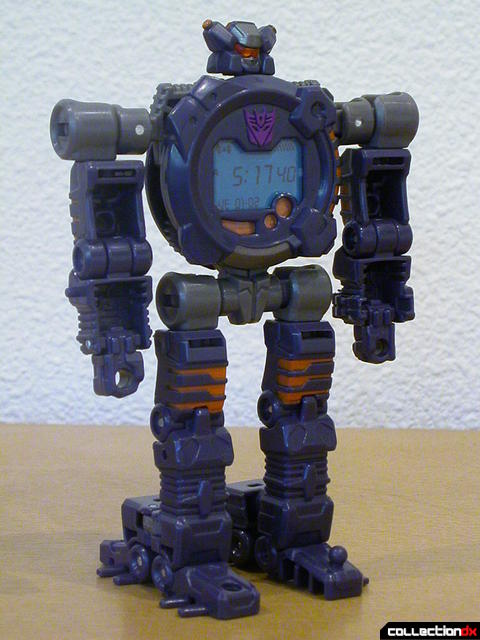 Decepticon Meantime- robot mode (front)