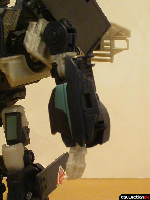 Decepticon Payload- robot mode (left arm detail)