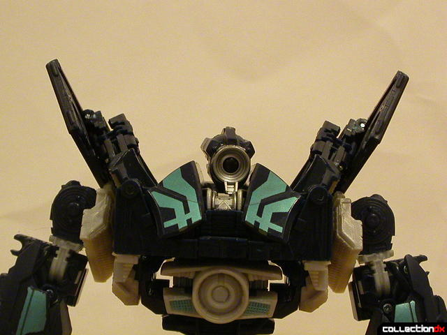 Decepticon Payload- robot mode ('wings' in normal position, per instructions)