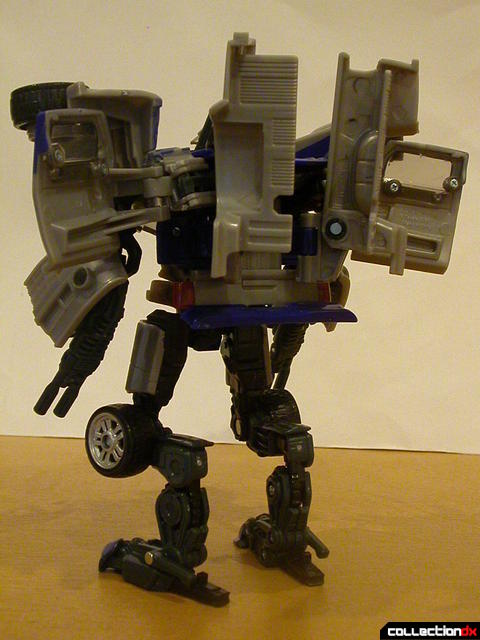 Decepticon Dropkick- robot mode (back)