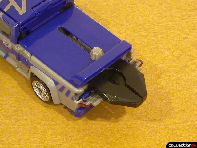 Decepticon Dropkick- vehicle mode (deploying claw feature, 2-3)