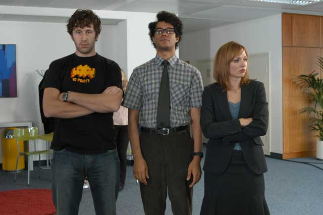 the boss in the it crowd