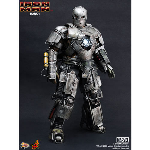 Hot Toys Movie Masterpiece Ironman Mark 1 | CollectionDX