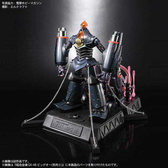 big o tamashii parts set available for preorder at anime