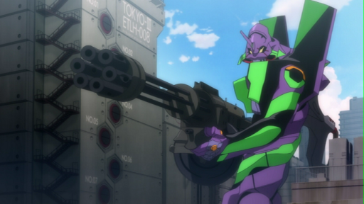 how many imperatorclass titans to bring down evangelion