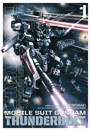 Gundam Thunderbolt Manga vol.1 cover