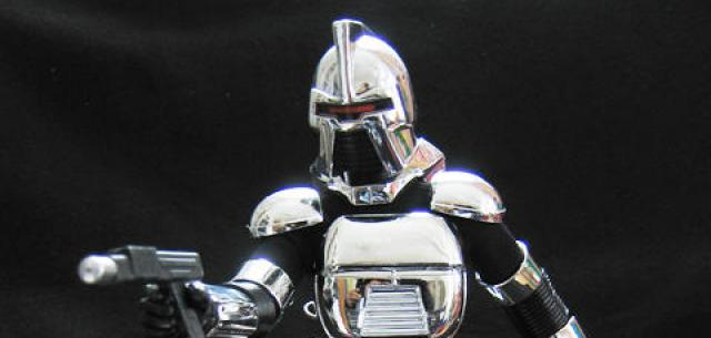 Cylon Centurion Warrior (Silver)