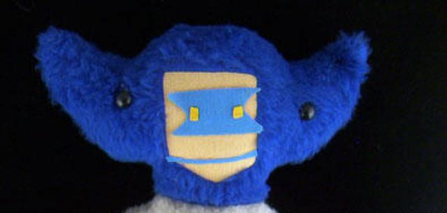 Plush Super Robot