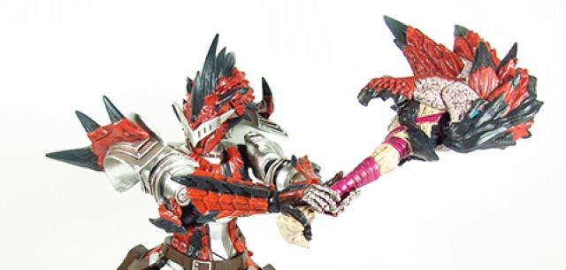 Monster Hunter 4 Full Action Figure Reus Set (Swordsman)