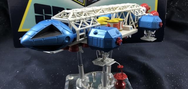 RETRO SPACE: 1999 EAGLE FREIGHTER