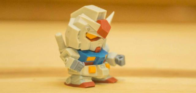 RX-78 Gundam Mini Review