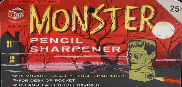 Monster Pencil Sharpeners