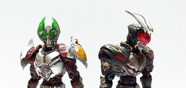 Kamen Rider Garren & Kamen Rider Chalice