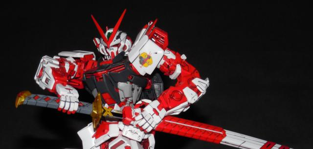 Master Grade MBF-P02 Gundam Astray Red Frame