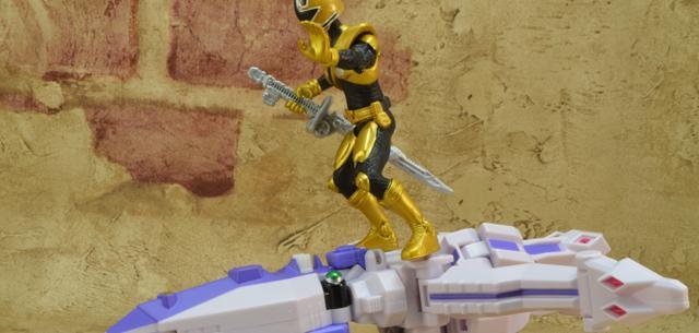 Octozord with Mega Ranger