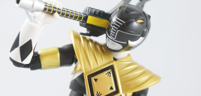 Armored Black Ranger power rangers sdcc