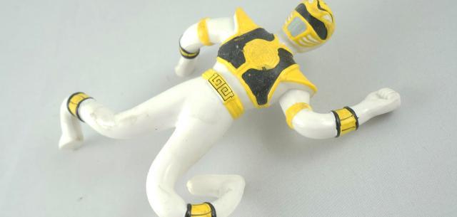 Bendable White Ranger