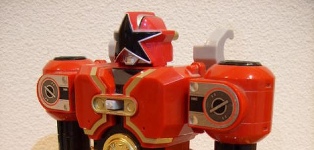 Deluxe Red Battlezord