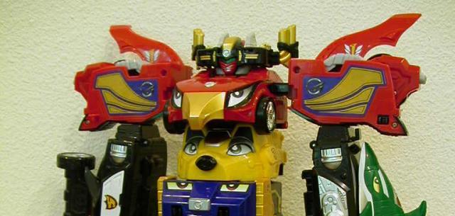 Bandai Engine Sentai Go-onger DX KYOURETSU-OH Power Rangers RPM F//S JAPAN