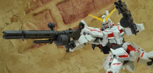 Unicorn Gundam- Destroy Mode Full Action Ver.