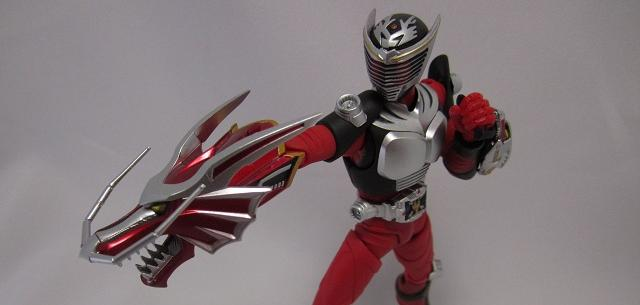 Kamen Rider Ryuki with Dragreder