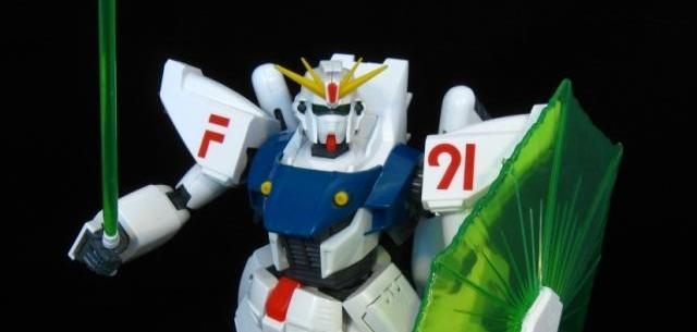 1/60 Big Scale Model Kit Gundam F-91