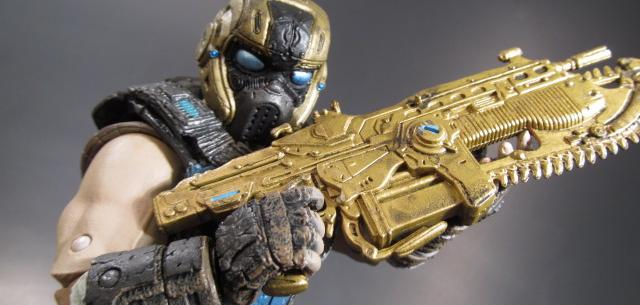 gears of war 3 golden cog soldier
