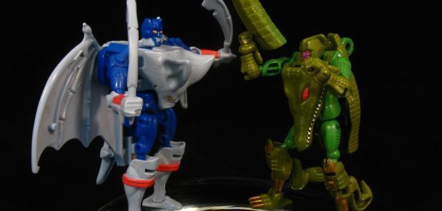 Optimus Primal vs. Megatron