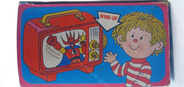 Wind-Up Color T.V.