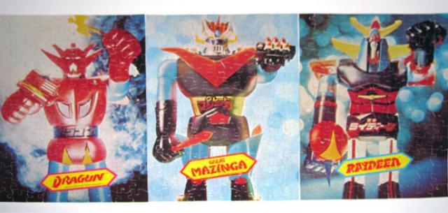 Shogun Warriors Puzzles