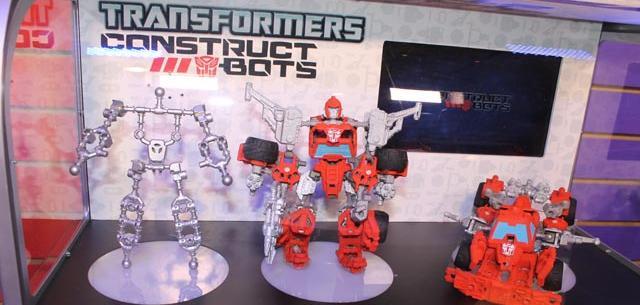 NYTF2013: Hasbro - Transformers Construct Bots