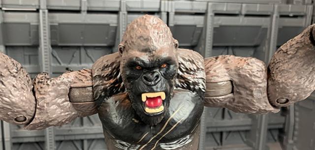 Kong with Battle Axe