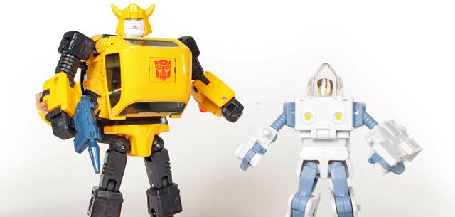 MP-21 Bumblebee & Spike in Exo-Suit