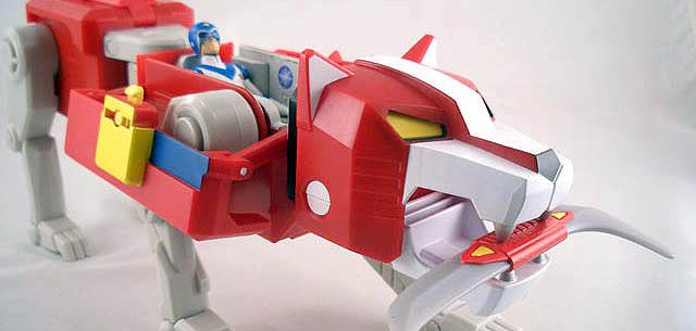 Voltron Red Lion
