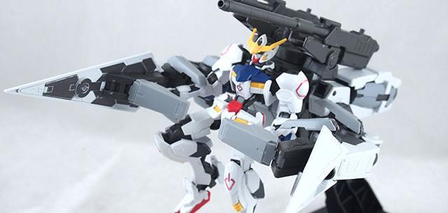 Gundam Barbatos & Long Distance Transport Booster Kutan Type-III
