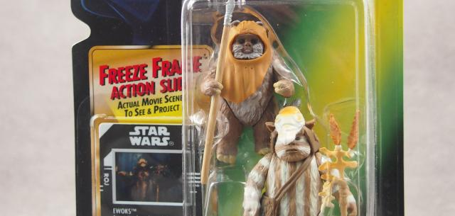 Ewoks Wicket and Logray