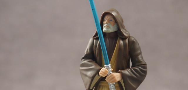 Ben (Obi-Wan) Kenobi with Lightsaber