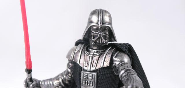 Titanium Die-Cast Darth Vader (Vintage Finish)