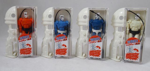 Reissue Microman Rescue Team 25X Set B